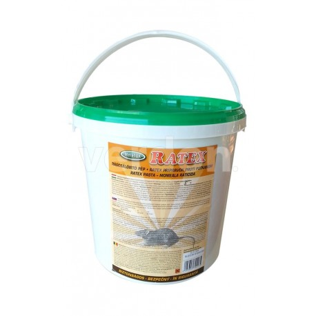 Raticid pasta Ratex 5 Kg