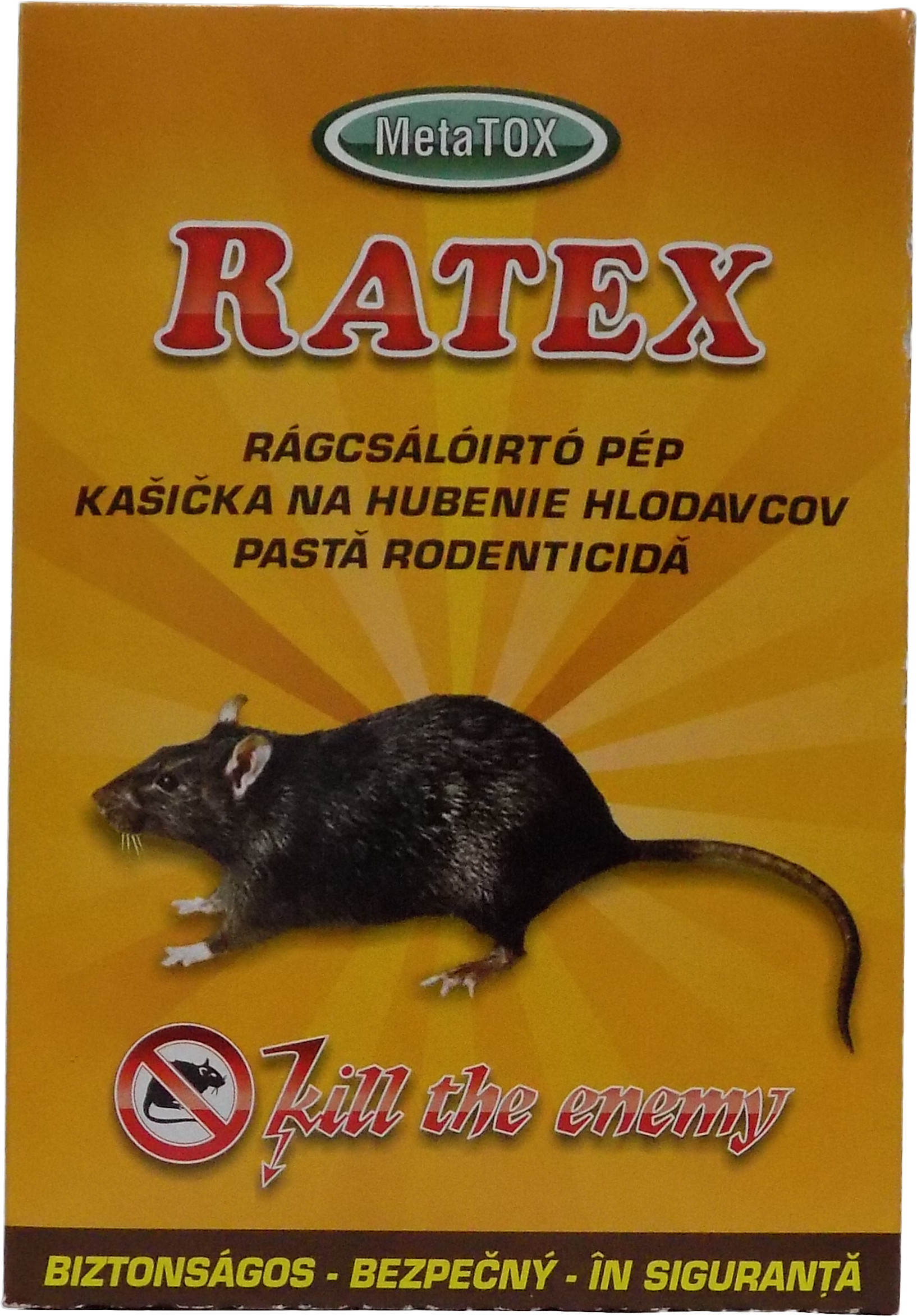 Raticid pasta Ratex 400 grame